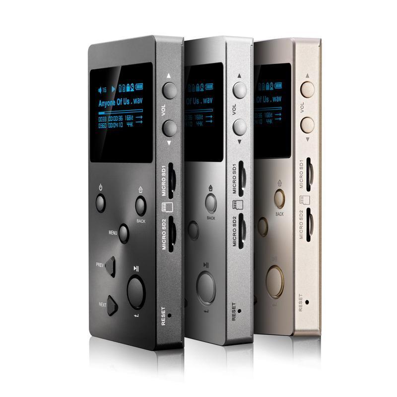 Baladeur numérique XDUOO X3 Hifi (Noir, argent ou or)