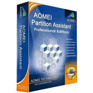 Logiciel AOMEI Partition Assistant Pro gratuit