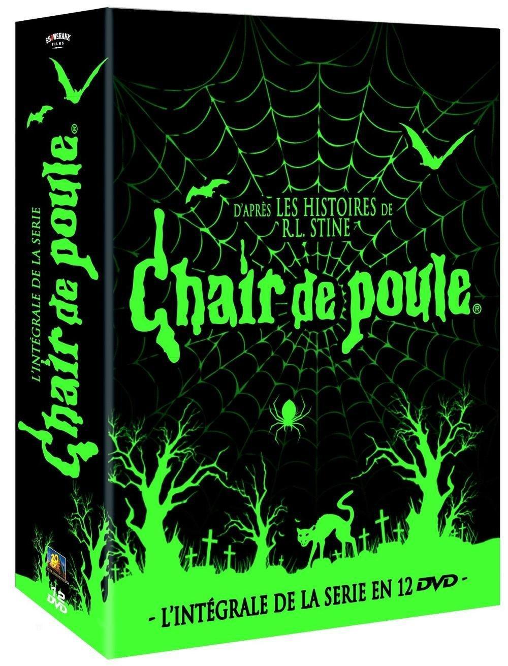 Coffret DVD Chair de Poule : L'intégrale (12 DVD)