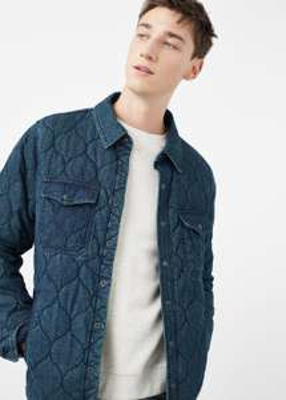 Sélection de vêtements en promo - Ex : Blouson matelassé denim Bauer Blacksmith (du S au XL)