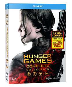 Coffret Blu-ray The Hunger Games: Complete Collection (4 disques, anglais uniquement)