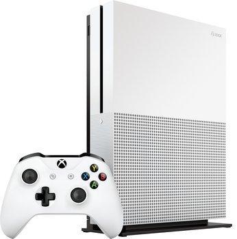 Console Microsoft Xbox One S (500 Go, blanc)