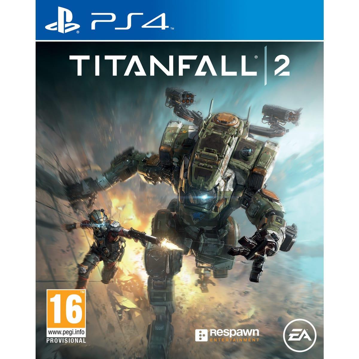 Sélection de jeux en promotion - Ex : Titanfall 2 sur PS4 et Xbox One
