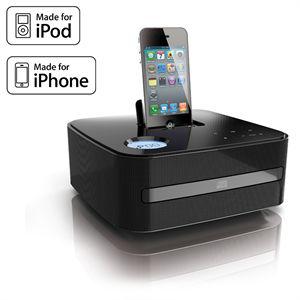 Station d'accueil iPod/ iPhone Thomson DS30i avec Lecteur CD/ MP3 - Tuner FM - 20 W
