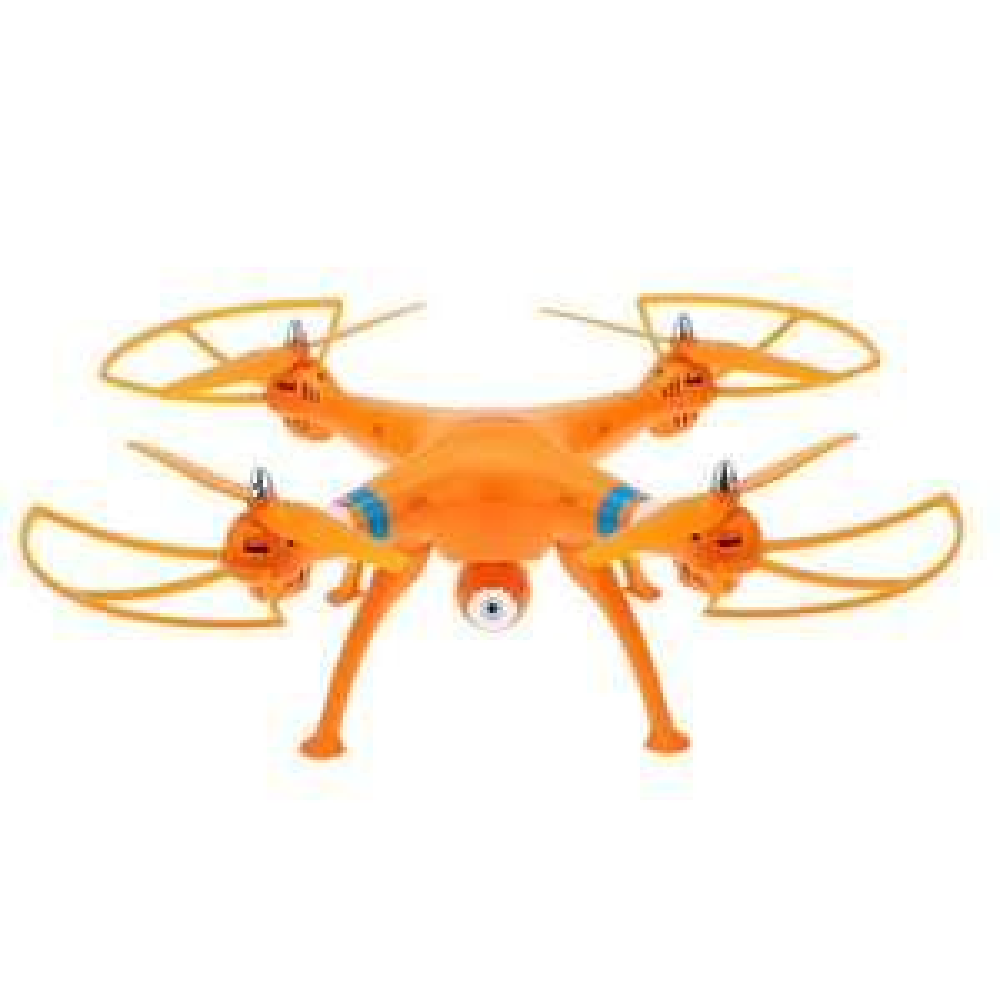 Drone Quadcopter YKS SYMA X8W - Wifi FPV 2.4G 6-Axes avec Caméra 2.0MP - Orange