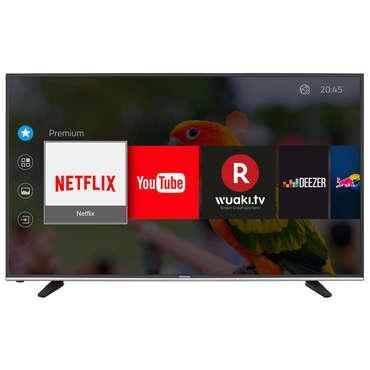 """TV 40"""" Hisense H40M3300 - LED, UHD 4K, Smart TV + 25€ de code VOD chez Wuaki"""