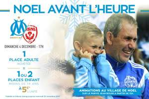Match de Football Ligue 1 Marseille / Nancy - 1 place adulte achetée = 1 ou 2 places enfants à 5€