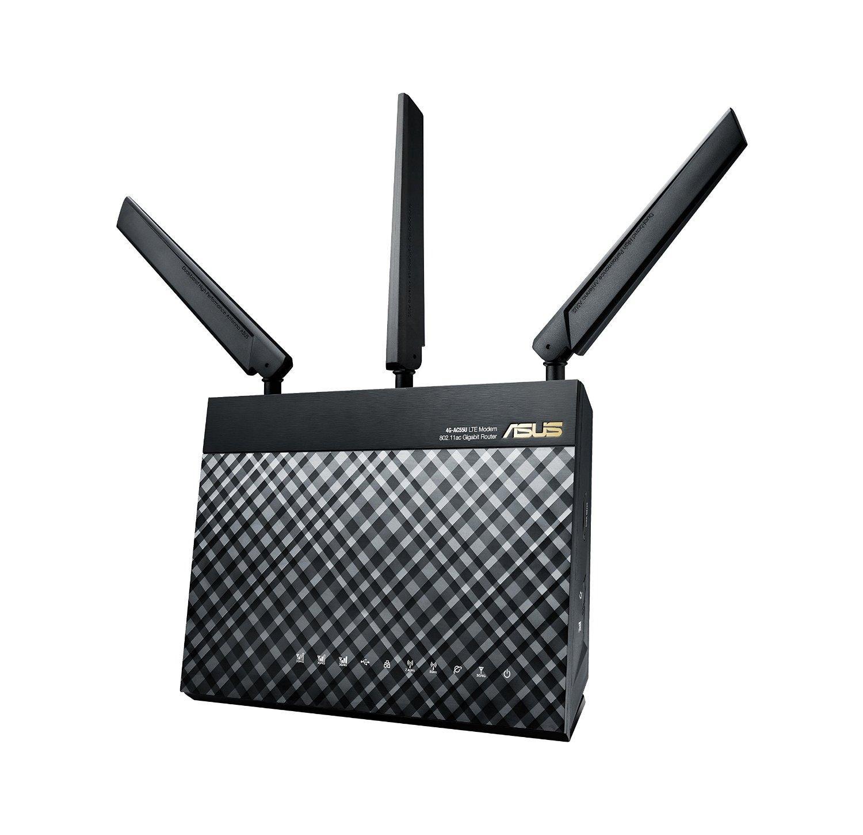Routeur-Modem Asus 4G-AC55U SIM LTE AC1200 Doube Bande
