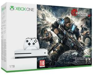Console Xbox One S 1To + Gears of War 4