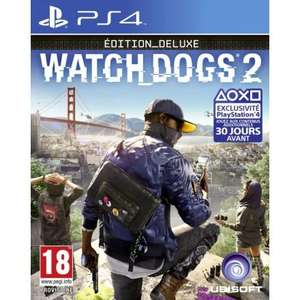 Watch Dogs 2 - Deluxe Edition sur PS4 et Xbox One