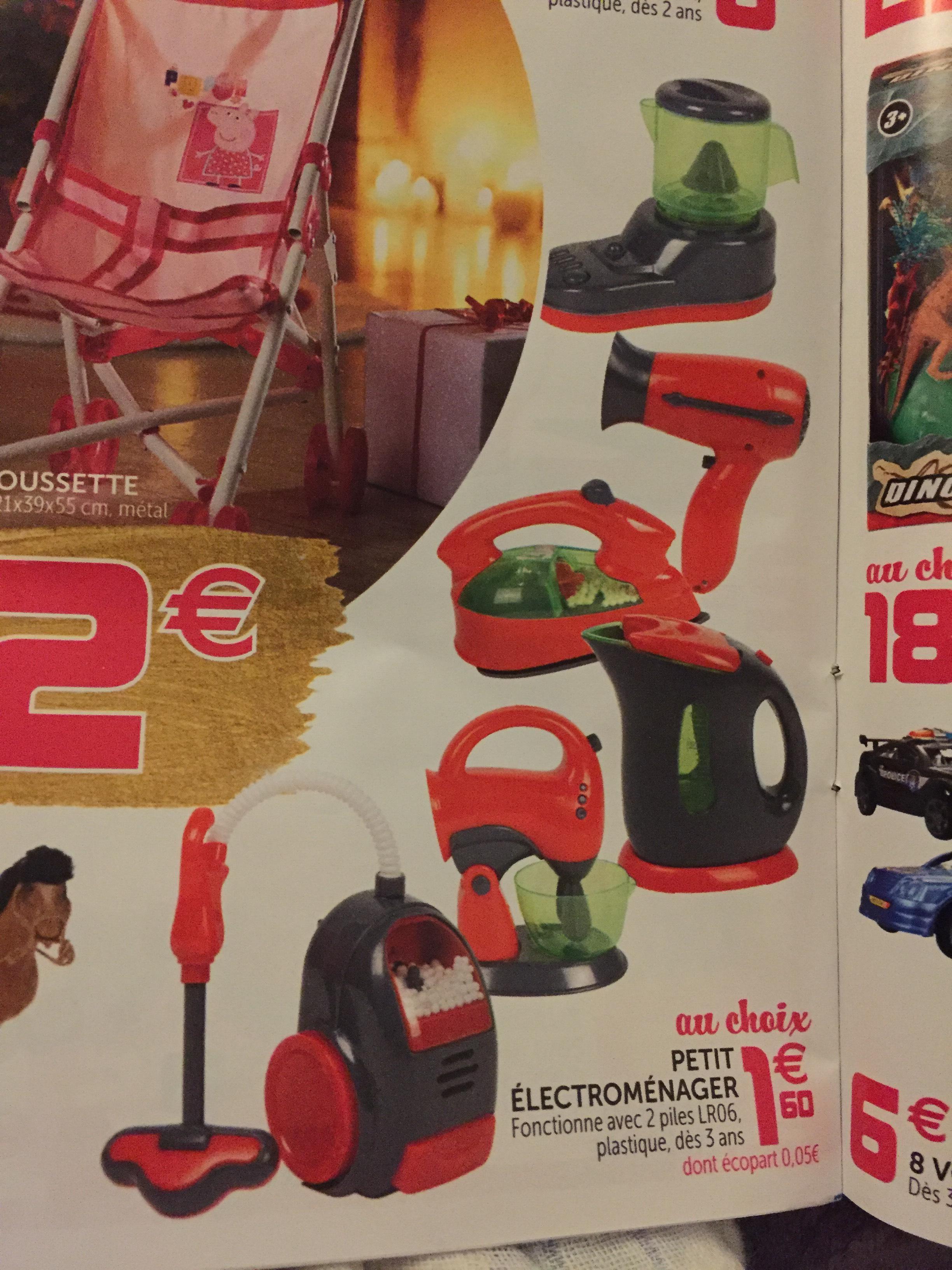 Sélection de jouets Petit Electroménager avec sons
