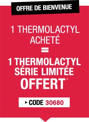 1 thermolactyl acheté = 1 thermolactyl Offert