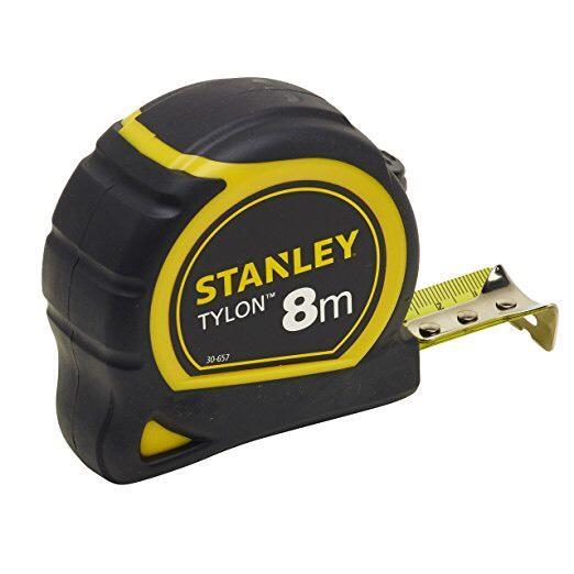 Mètre Stanley - 8 m x 25 mm, Bi-matière Tylon