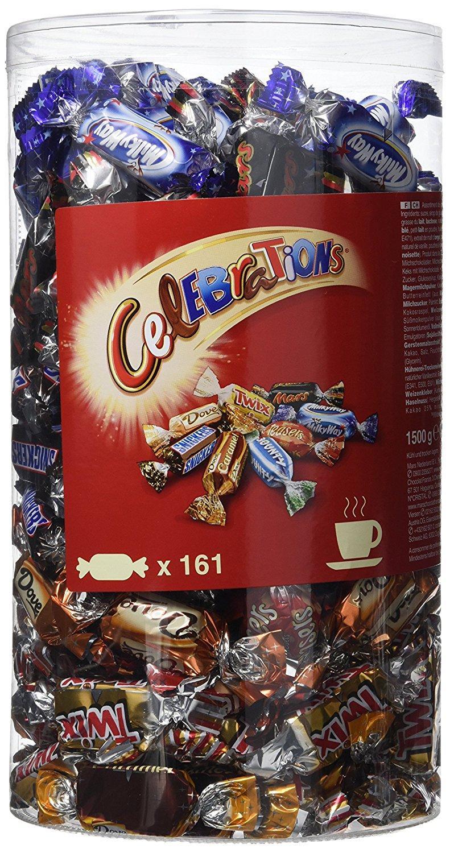 Boite de Chocolats Celebrations Tubo - 1,5 kg