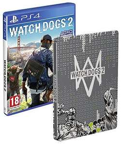 Watch Dogs 2 + Steelbook Exclusif sur PS4 et Xbox One