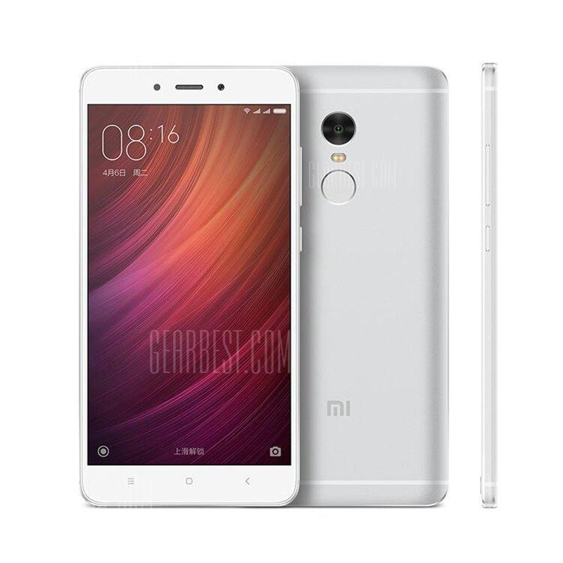"Smartphone 5.5"" Xiaomi Redmi Note 4 Silver - Full HD, Deca-core Helio X20, RAM 3Go, 64Go, 4100mAh"