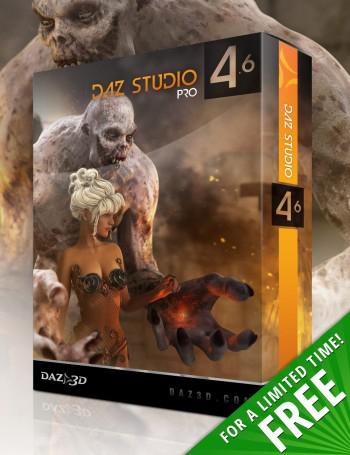 Logiciel 3D DAZ Studio 4.6 Pro [Mac/Pc] Gratuit