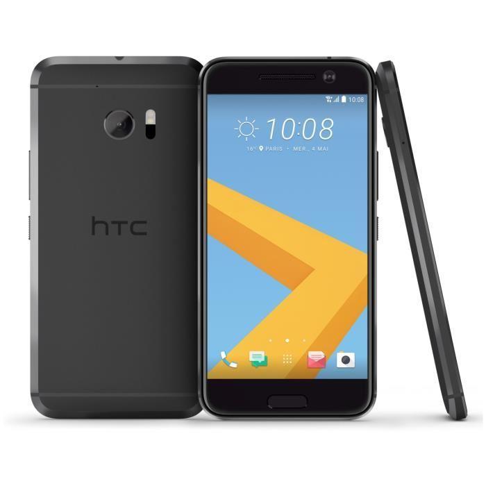 "Smartphone 5.2"" HTC 10 - Snapdragon 820, RAM 4 Go, ROM 32 Go (plusieurs coloris)"