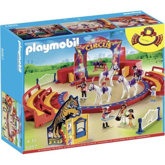 Jouet Playmobil Le cirque, avec lumières clignotantes (5057)
