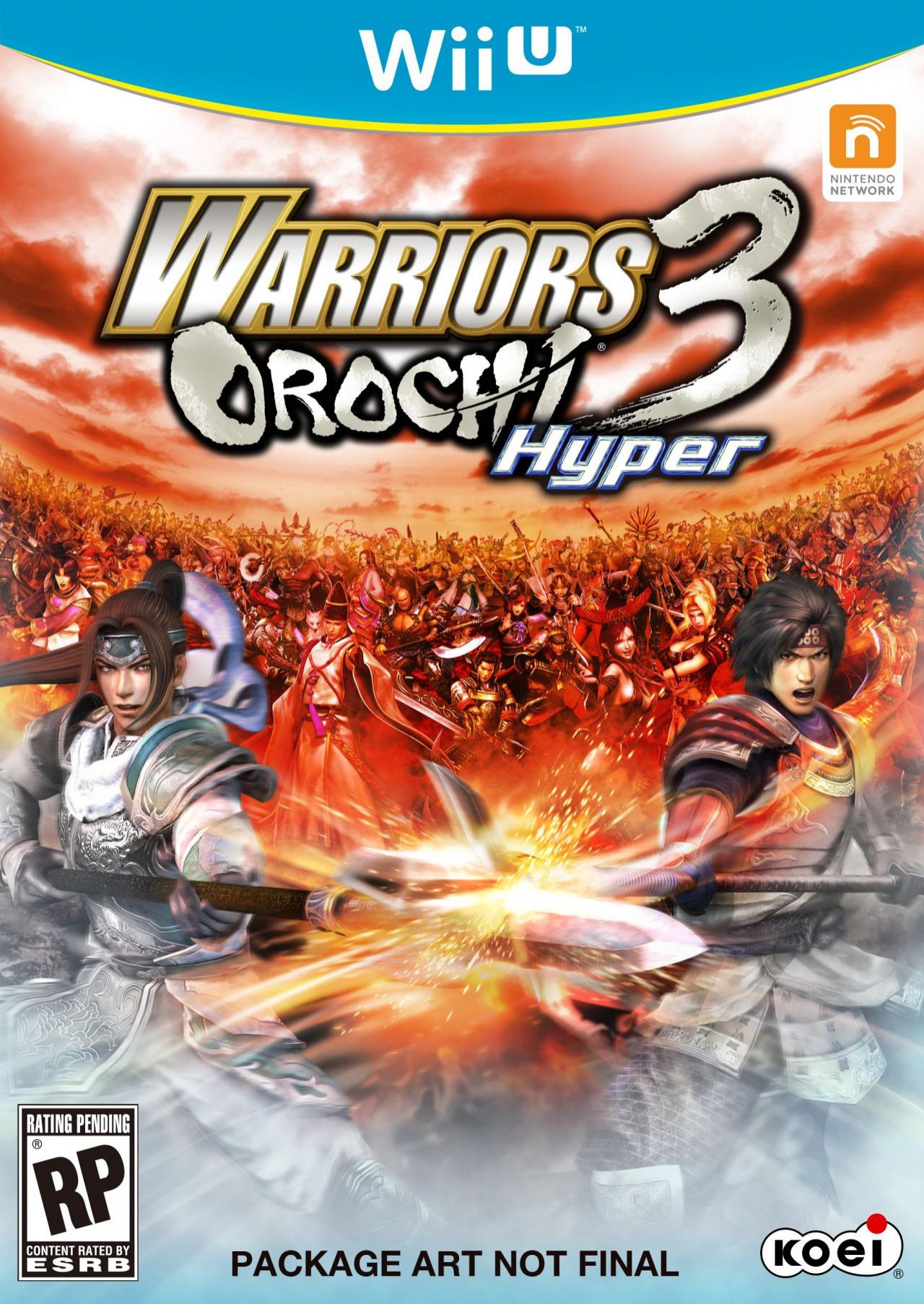Jeu vidéo Warriors Orochi 3 Hyper sur Wii U