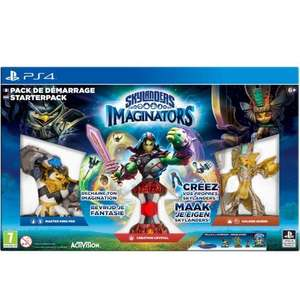 Pack de démarrage skylanders imaginators PS4