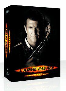 Coffret Dvd L'Arme Fatale 1 à 4