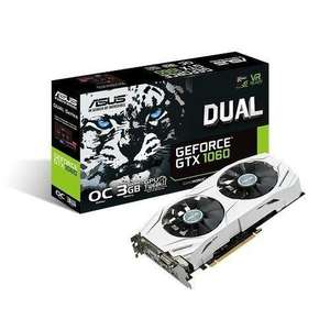 Carte graphique Asus GTX1060 3Go DUAL version OC