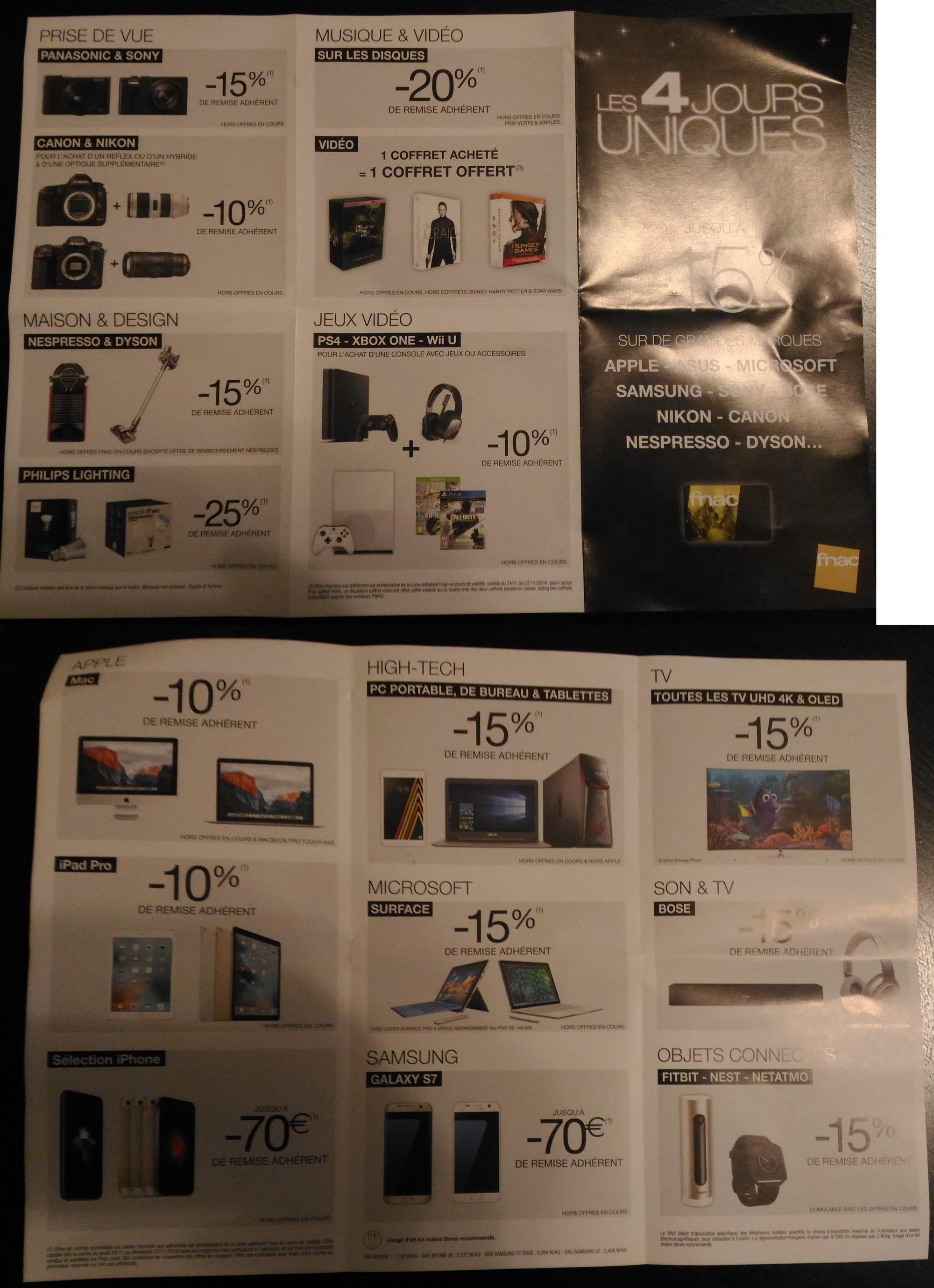 [Adhérents] Remises de 10 à 25% console, TV, Apple