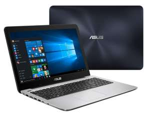 "PC Portable 15.6"" Asus K556UQ-DM971T (Full HD, Intel Core i5-7200U, HDD 1 To + SSD 128 Go, RAM 6 Go, GeForce 940MX 2 Go, Windows 10)"