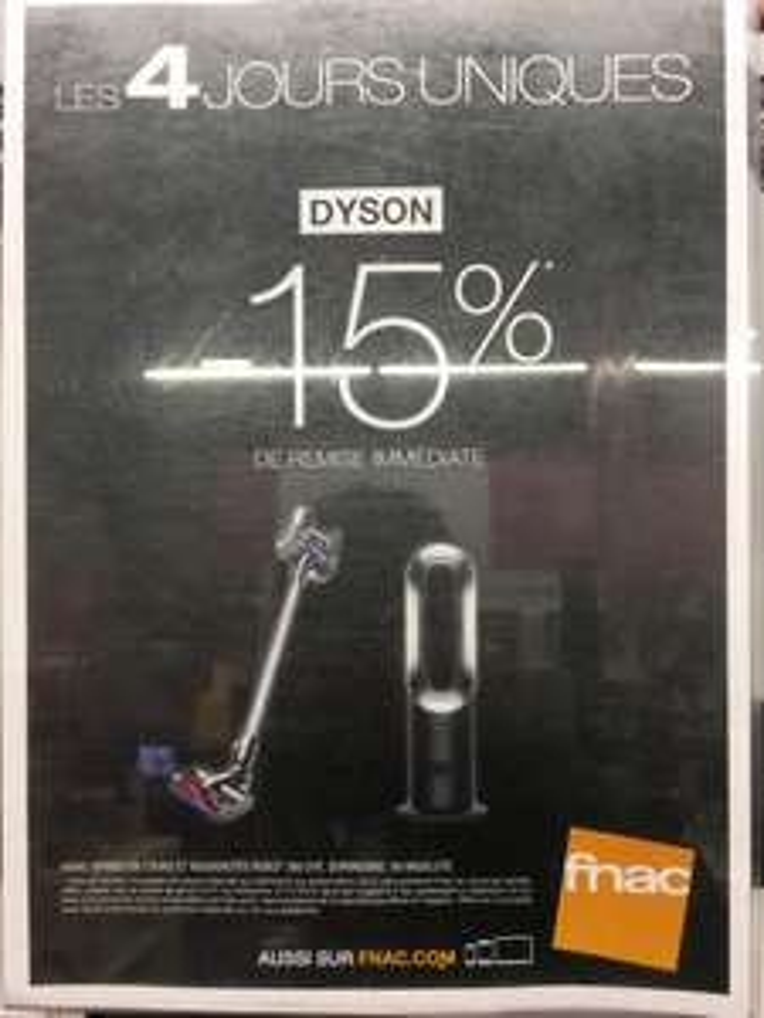 [Adhérents] 15% de réduction sur les produits de la marque Dyson (hors nouveautés)