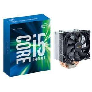 Pack processeur Intel Core i5-6600K + ventirad be quiet! Pure Rock
