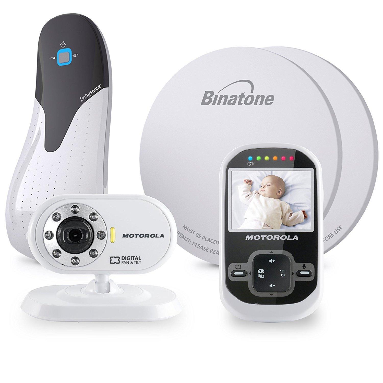 Babyphone + capteur de respiration Motorola MBP26 Digital Video