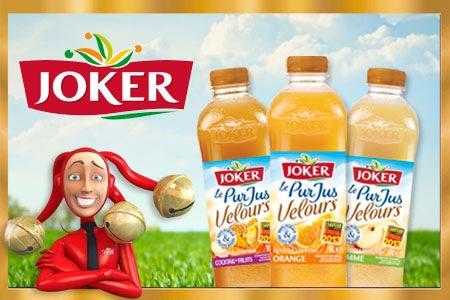 Bon de réduction immédiate 1,50€ sur l'achat simultané de 2 produits de la gamme Joker Le Pur Jus Velours