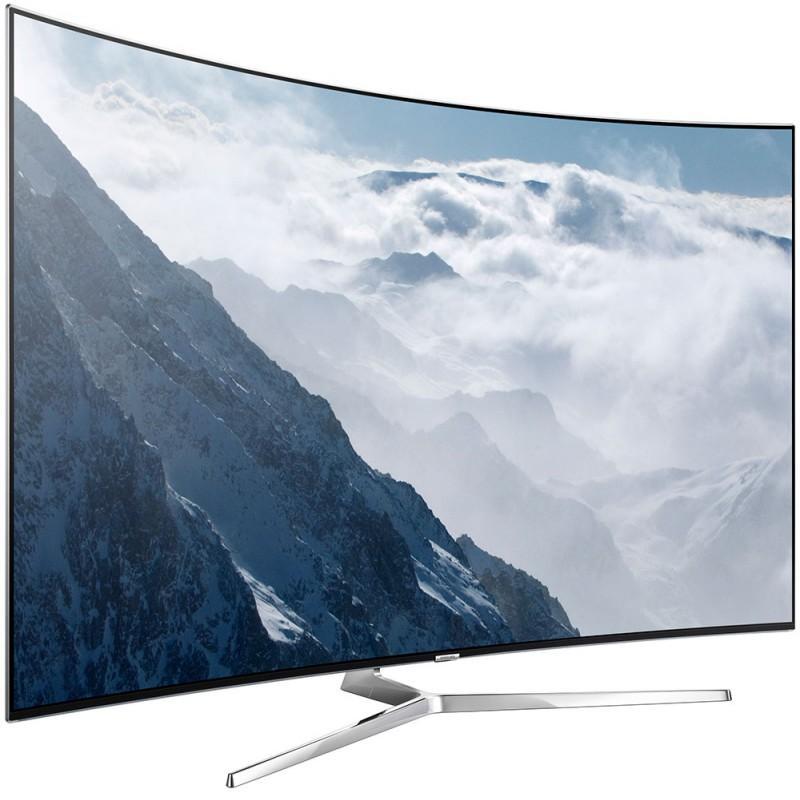 "TV 55"" Samsung UE55KS9000 - SUHD 2400 PQI Smart TV + Barre de son HWJ7501R + Lecteur Blu-ray 4K UBD-K8500"