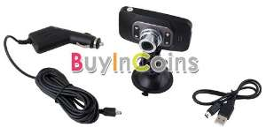 "Dashcam 2.7"" HD 720p G-sensor V200K"