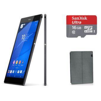 SONY - Xperia Z3 Tablet Compact 8'' Wifi + Micro SD 16 Go + Étui Universel pour tablette de 8 à 9''