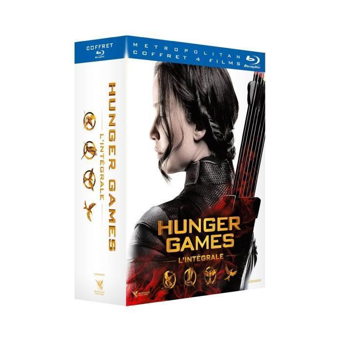 Sélection de coffrets Blu-ray / DVD en promotion - Ex : Coffret Blu-ray Hunger Games - L'intégrale