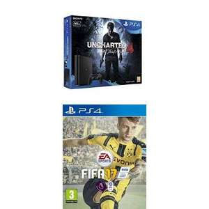 Console Sony PS4 500Go + Uncharted 4 + FIFA 17