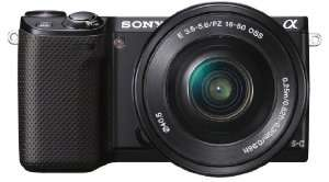 Appareil photo hybride Sony NEX-3NLB + 16-50 mm à 322.96€ et NEX-5RL + 16-50 mm