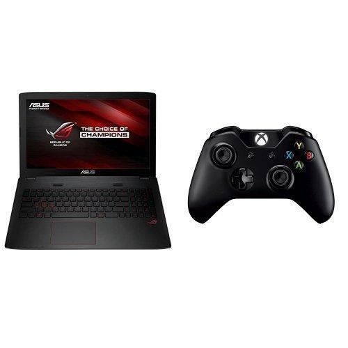 "PC Portable 15.6"" Asus G552VW-DM475T (Intel Core i7, 8Go RAM, HDD 1To + SSD 128Go, GeForce GTX 960M) + Manette sans fil Xbox One"