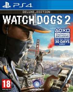 Watch Dogs 2 Edition Deluxe sur PS4 et Xbox One