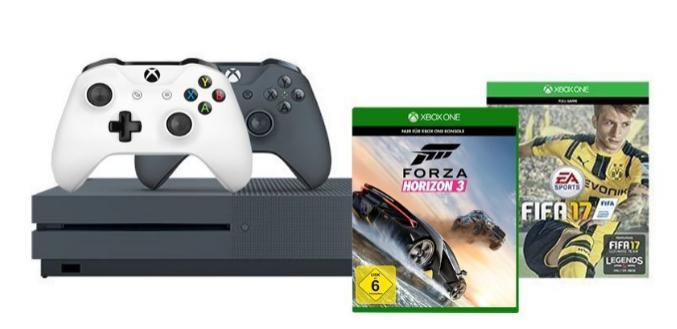 Pack Xbox One S 500Go + Fifa 17 + Forza 3 Horizon + 2éme manette