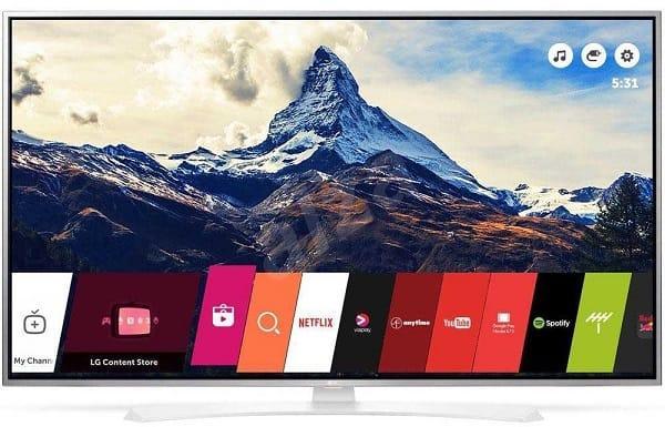 Téléviseur 65'' LG 65UH664V - HDR Pro - UHD/4K - SMART TV (via ODR 100€)