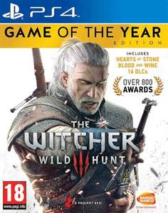 The Witcher III Game of the Year sur PS4 et Xbox One
