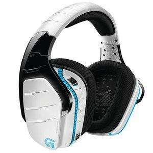 Casque sans fil Logitech G933 Artemis Spectrum 7.1 Surround Gaming - Blanc