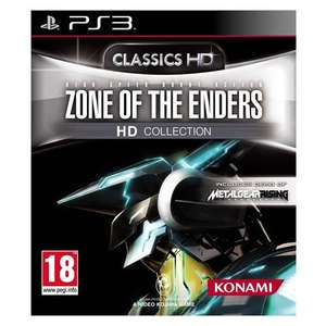 Jeu Zone of The Enders HD Collection PS3