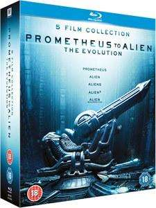 Coffret Blu-Ray De Promotheus à Alien Résurrection
