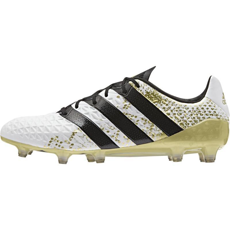 Jusqu'à 50% de réduction sur le site - Ex: Chaussures de foot Adidas Ace 16.1 FGBlanc et or