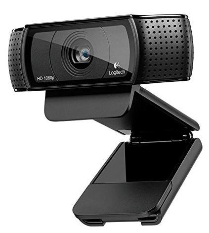 Webcam  Logitech HD Pro C920 Full HD 1080p
