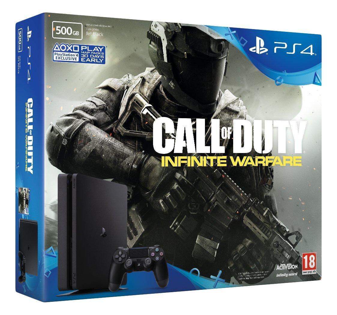 Console PS4 500 Go Slim + Call of Duty Infinite Warfare